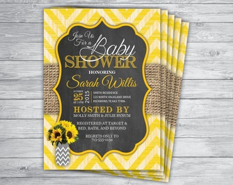 Burlap sun invite etsy any event or color sunflower burlap wood yellow stripes gender reveal mason jar country vintage unique filmwisefo