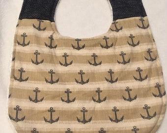 Ahoy matey! Nautical bib