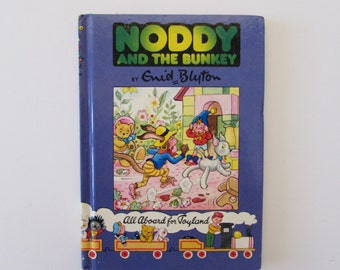 Vintage (1980s) children's book, 'Noddy and the Bunkey'  Enid Blyton