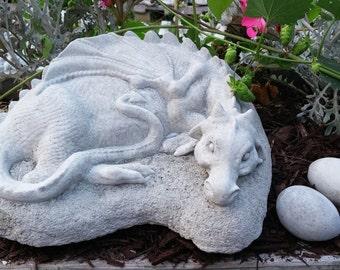 Resting Garden Dragon
