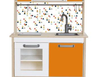 Ikea Kinderküche Pimpen sticker set trianglig pimp your ikea duktig play