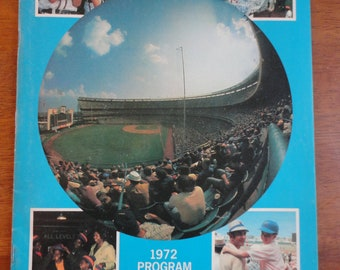 NY Mets 1972 Program & Scorecard