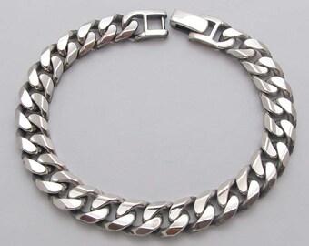 PP2808-20 Bracelet 20cm 34g argent Sterling 925 oxydé