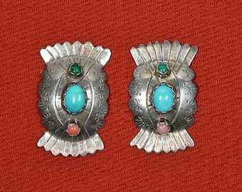 Native American Navajo Three Stone Concho