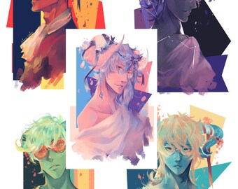 Flower Demons, POSTCARD