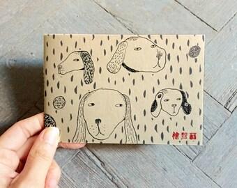 Dogs Mini Notebook