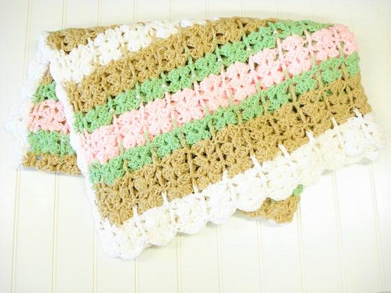 Handgemachte Decke alte Decke häkeln Baby Decke Baby Afghan