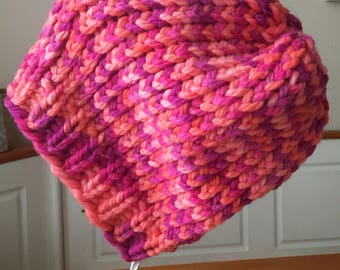 Pink Sherbet - Youth/Petite Slouchy Beanie