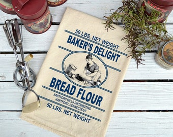 Flour Sack Towel, Flour Sack Dish Towel, Flour Sack Kitchen Towels, Tea Towels, Kitchen Towel Set, Dish Towels, Baking Gift, Bakers Delight