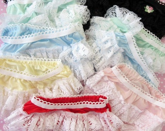 9 pair Doll Panties Rhumba Style Clearance Close Out lot Combine Orders to Save