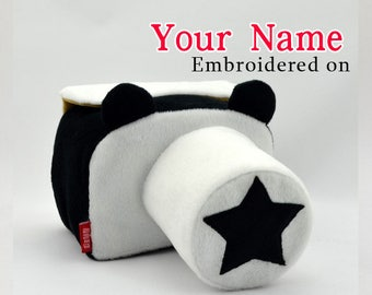 camera bag Personalized Camera Cases Strap Embroidered DSLR Nikon, Sony, Canon Accessories Custom Photography Gift