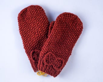 Bow Mitten Adult