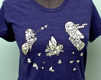 CAMPING T SHIRT, smores shirt, camping tshirts, fall shirt, camping clothes, mom shirt, hiking t shirt, s'more, summer, adventure