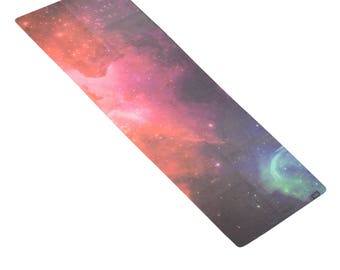 GALAXY Luxe Printed Yoga Towel Travel Yoga Mat | Premium Eco Friendly Soft Suede