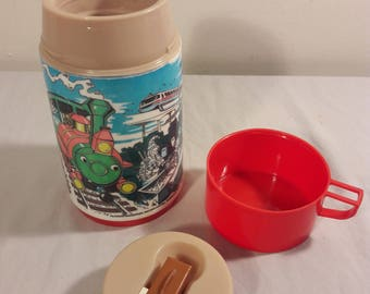 Vintage Disney's Its a Wonderful World Thermos