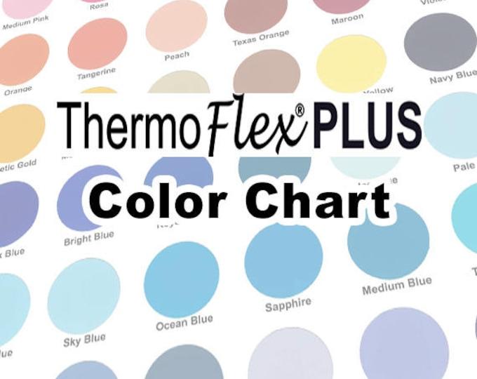 COLOR CHART / ThermoFlex Plus HTV