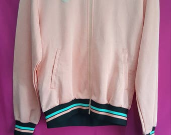 vintage Adidas jacket pink colour very good condition