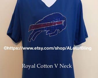 Buffalo Bills Rhinestone shirt