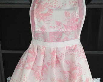Apron Pink Retro Sweetheart
