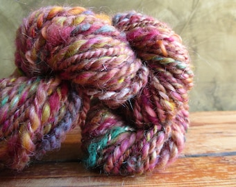 "Hand-spun wool ""Dawn"""