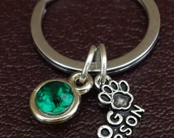 Dog Person Keychain, Dog Person Key Chain, Dog Person Charm, Dog Person Pendant, Dog Keychain, Dog Key Chain, Dog Owner Gift, Dog Lover Gift