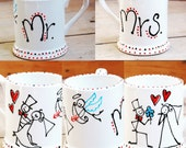 Set of 2 Mr and Mrs Mugs...