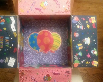decorative  made to order boxes for care packages (empty)