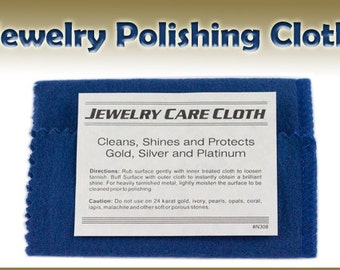 Polishing Cloth // Jewelry Cloth //  Jewelry Polishing //  Tarnish Remover // Jewelry Cleaner
