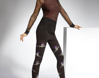 Witches  Patterned Tights #56
