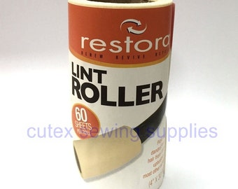 Restora Lint Roller Remover 60-Sheets Refill - 1 Roll / No Handle