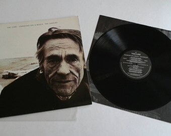 1986 - The Cure - Standing on A Beach - The Singles w/ Inner Sleeve - Gatefold LP Vinyl Record Album - 80's / New Wave / Rock