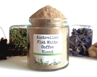 Australian Flat White Coffee/Instant Coffee/Coffee Gift/Gifts For Foodies/Foodie Gift/Food Gift/Chef Gift/Cooking Gift/Coffee Lover