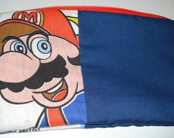 Super Mario Brothers Zipper Pouch: Videogames,  Handmade, Geekery.