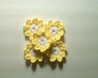 5 pequeñas flores