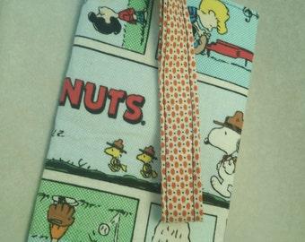 Peanuts Comic Strip Jane Wristlet