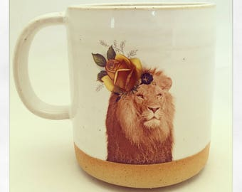 Talk to the Animals - Lion Mug