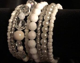 Summer Bracelet, Pearl Bracelet, Beach Bracelet, Bohemian Bracelet