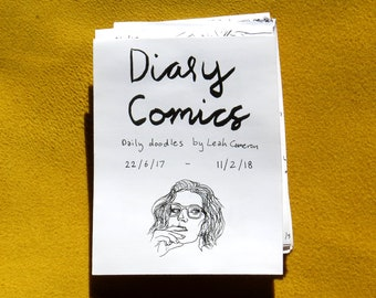 Diary Comics Zine 22/6/17 - 11/2/18