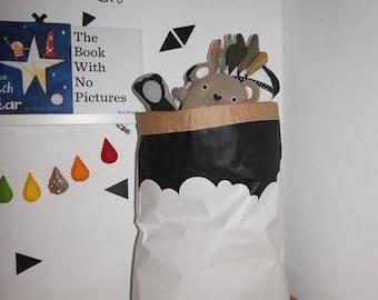 Cloudy-skyline-paper-storage-bag