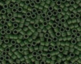 MIYUKI #11 Delica 0797 - Semi Matte Opaque Hunter Green - 5 grams
