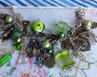 Altered Charm Bracelet