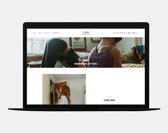 Responsive Blogger template | VIER