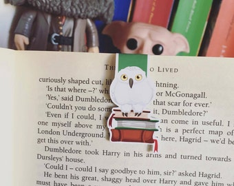 Magical Owl Companion Mini Magnetic Bookmark