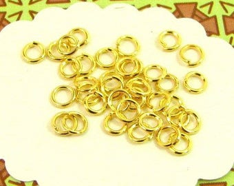 160 rings 4mm Golden AG05X2 junction connectors