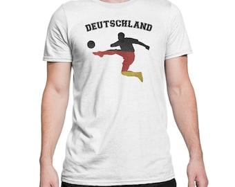 Deutschland Soccer T Shirt - Germany Soccer Shirt - Germany Soccer Fan Shirt - Germany Team 2018 Russia German Flag Shirt