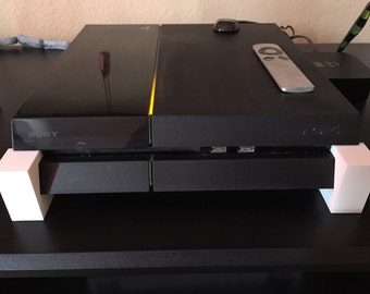 Playstation 4 (PS4) & Slim Risers for Better Airflow and Roach Prevention