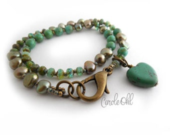 Love Wrap Bracelet Tutorial