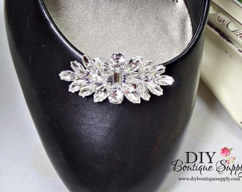 Rhinestone Shoe Clips Wedding Shoe clips Bridal Shoe Clips Crystal Shoe Clips 002