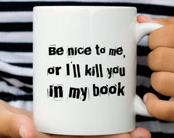 Author Mug, Funny gift for Author, Writer Mug, Gift for Writer