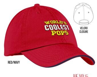 Cool Pops, Pops Gift, Pops Hat, Pops To Be, Pops Birthday, Birthday Gift For Pops, Best Pops, Awesome Pops